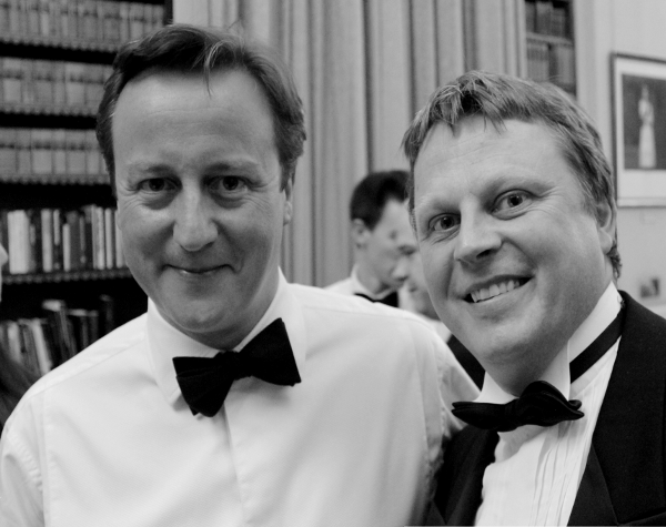 Dinner with David Cameron
